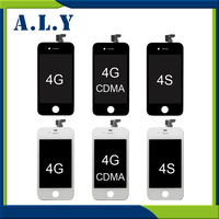 10pcs LOT Best Quality For IPhone 4s Display Screen LCD Touch Screen Digitizer Assembly For IPhone4s