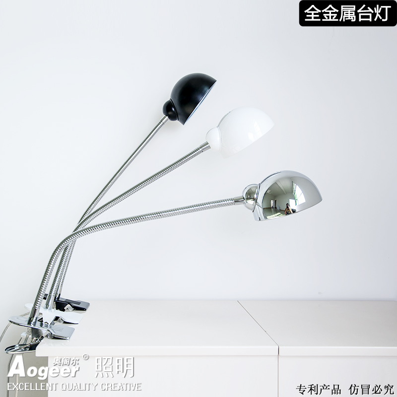 Led Desk Lamp With Clip Flexible Table Lamp 13Leds For Bedside Book Reading Study Office Work Children Night Light