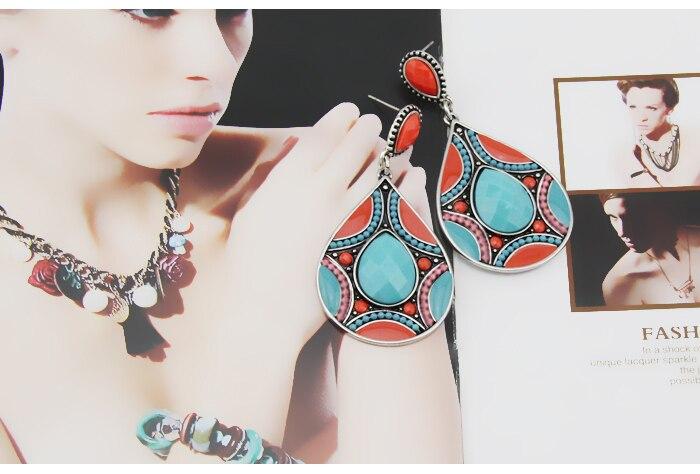 HuiMei Ethnic 2018 Novi dolazak Moda za žene Smola perle Link - Modni nakit - Foto 6