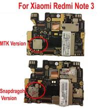 Global Firmware ปลดล็อกเดิมเมนบอร์ดสำหรับ Xiaomi Hongmi Redmi หมายเหตุ 3 Note3 Pro เมนบอร์ดค่าบอร์ดหลักอุปกรณ์เสริม