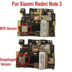 Oprogramowanie sprzętowe na cały świat oryginalna płyta główna odblokowująca dla Xiaomi Hongmi Redmi Note 3 Note3 Pro płyta główna opłata za płytę główną