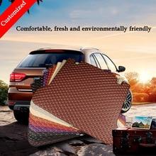 Customized car trunk mat For Ssangyong all model actyon kyron rexton w chairman korando Cargo Liner car accessories car mat