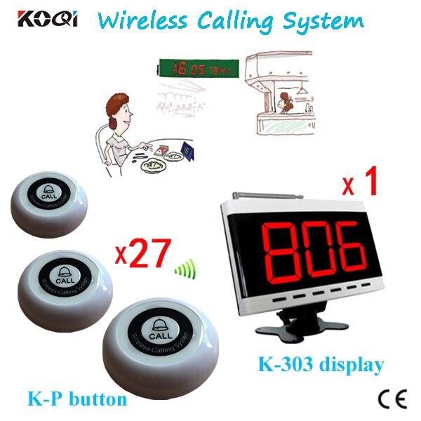 Belknop Systeem K-303 + K-P Draadloze Oproepsysteem