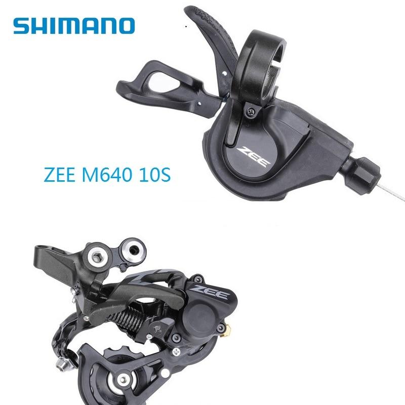 SHIMANO ZEE M640 Dérailleurs 10 Vitesse Unique Droit Levier FR Dérailleur Arrière VTT AM FR DH Cyclisme Sport accessoires