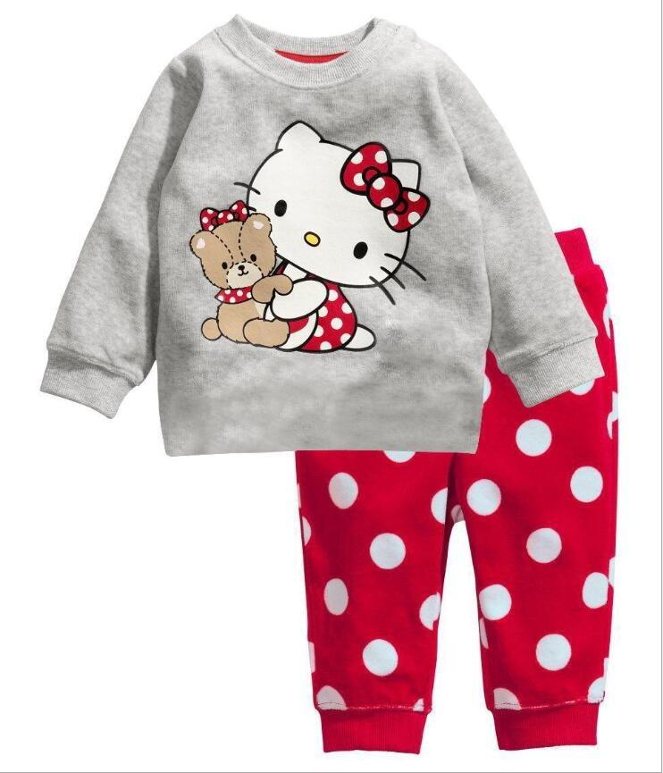 2 Stücke Kinder Baby Pyjamas Set Kleinkind Kid Jungen Mädchen Minnie Pijamas Langarm Pyjamas Set Tops Lange Hosen Nachtwäsche Husten Heilen Und Auswurf Erleichtern Und Heiserkeit Lindern