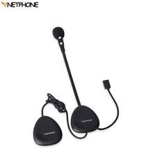 VNETPHONE Motorcycle Bluetooth Helmet Headset 2 Riders Talking V1-2A Moto Helmet Intercom Bluetooth V4.0 Stereo Music Waterproof
