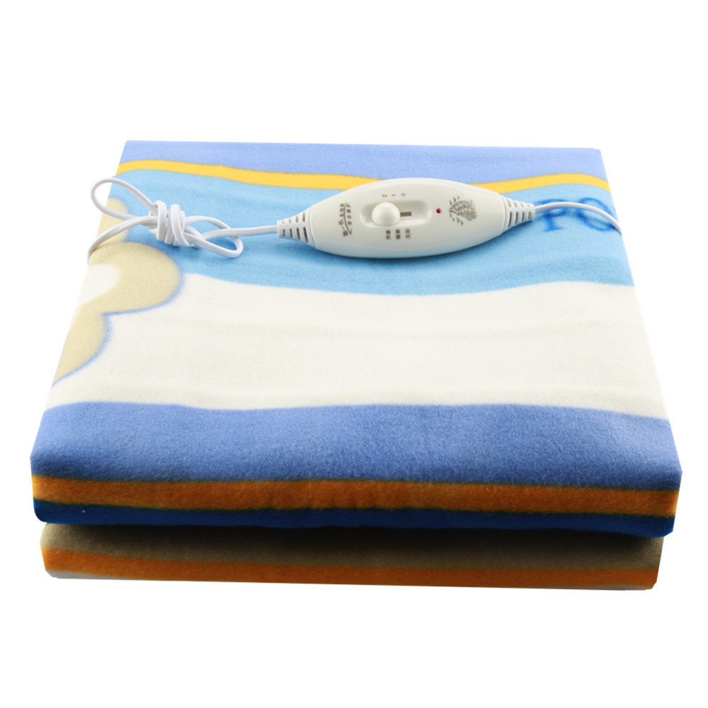 Electric Blanket High-grade Plush Blanket Thicker <font><b>70*150</b></font> Single Electric Mat Body Warmer Heated Blanket for Winter image