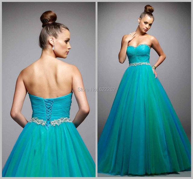 91ba61ee0b2 Top Quality Sweetheart Applique Beads Sequins Pleats Lace-up Organza  Quinceanera Dresses Floor Length Ball Gown Prom Dresses