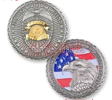 2014 hot sale American Flag Eagle Souvenir Copper  Medals Military coins Collection Wholesale and retail Free shipping  hl50018 2014 hot sale metal crafts american flag commemorative coin copper medals wholesale and retail free shipping hl50015