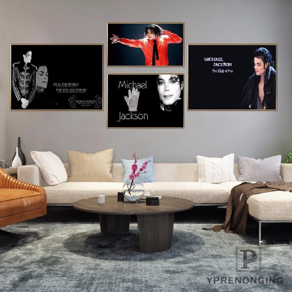 Custom Michael Jackson Poster Art Home Decor Canvas Printing Silk Fabric Print Wall Poster No Frame 180314@22