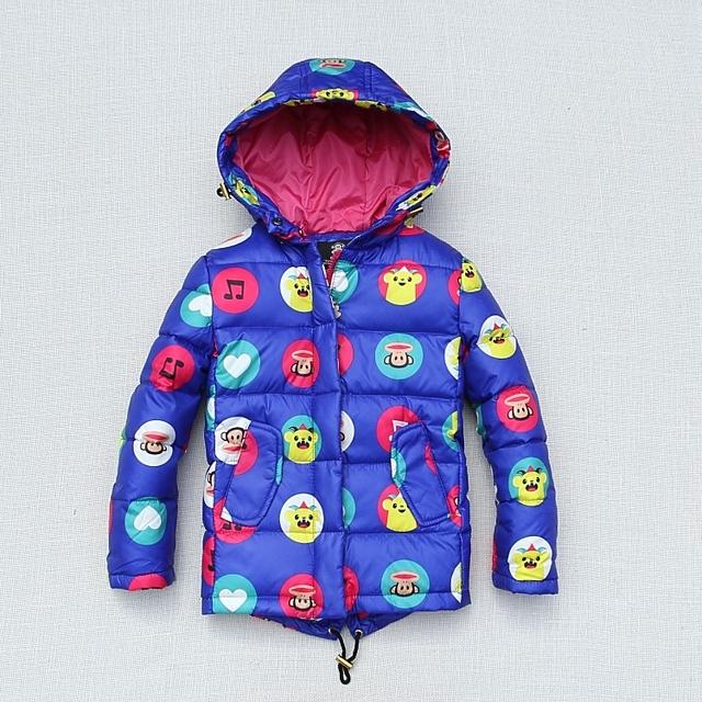 Casaco de inverno Quente À Prova D' Água À Prova de Vento Meninos Das Meninas Do Bebê Casacos Crianças Roupas Crianças Outerwear Para 5-12 Anos de Idade