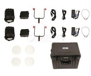 Image 5 - 2 Pcs CAME TV Boltzen 150w Fresnel Focusable LED Daylight Kit Led video light