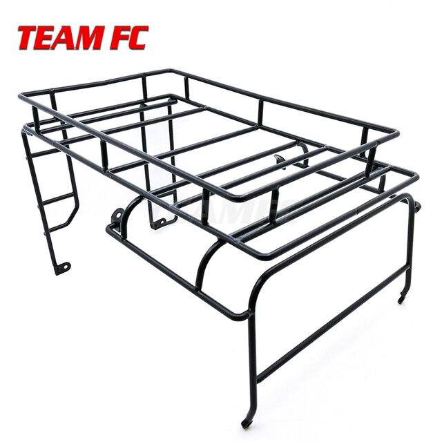מתכת גג מתלה מטען Carrier עבור 1/10 RC Crawler רכב RC4WD D90 גוף פגז חלקי S343
