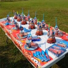 Hot Cartoon Disney Cars Theme Kid Birthday Party Decoration Set Supplies Family Baby Shower
