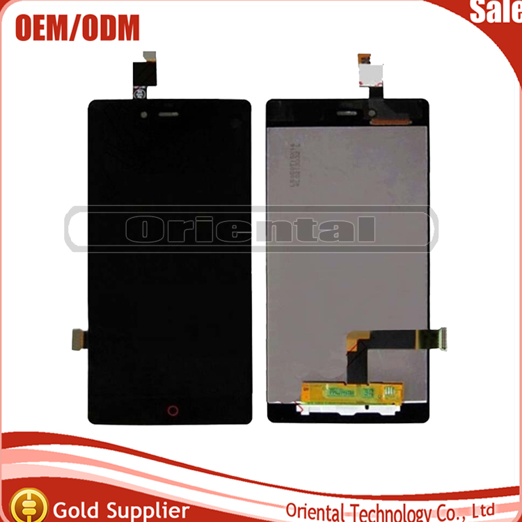 Para zte nubia z9 mini sensor completo lcd display + touch screen reemplazo digi