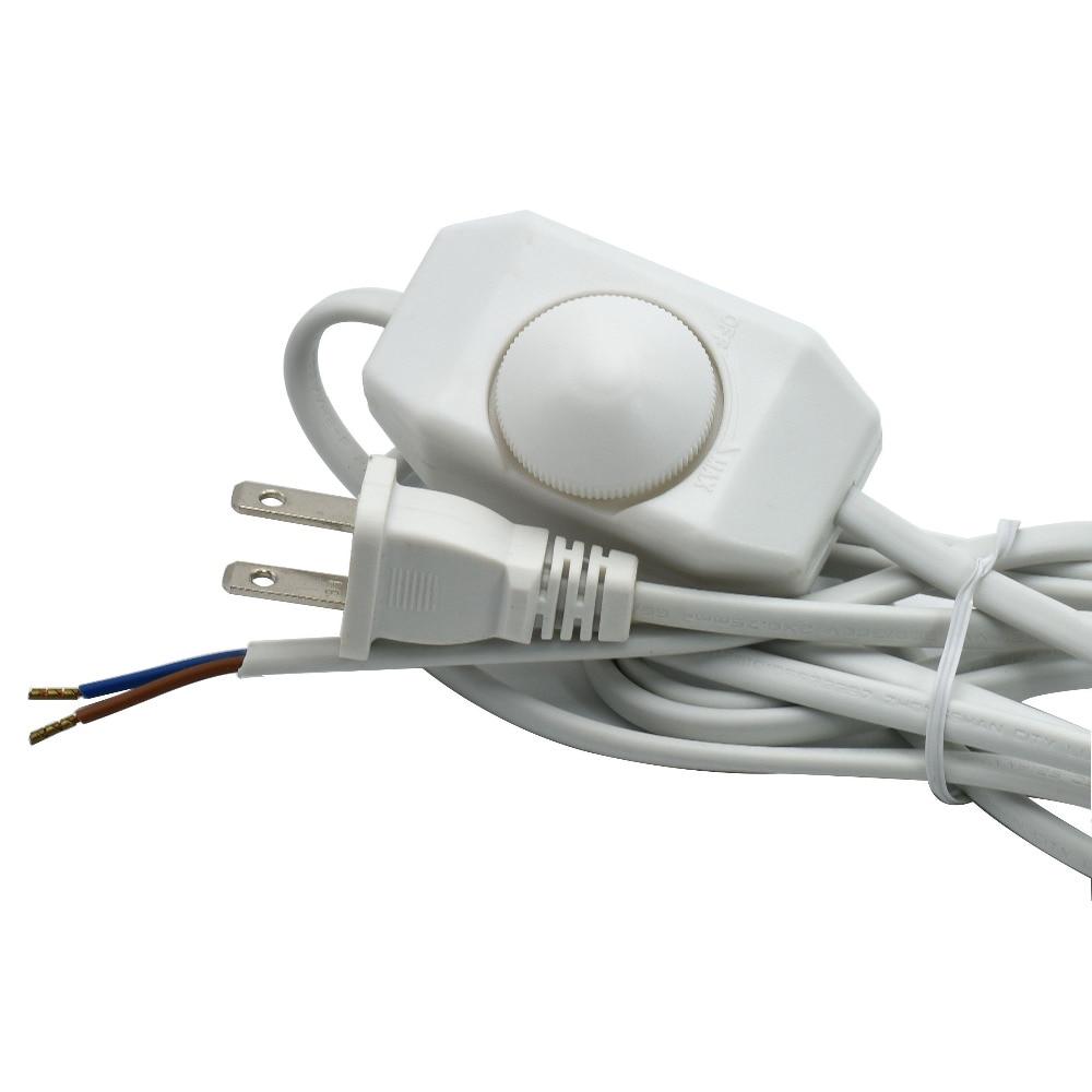 ヾ ノ110v 2 0 75mm2 Lamp Dimmer Switch Cable Us Plug Vde