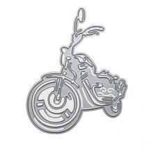 Motorcycle Motor Metal Cutting Dies Stencils DIY Scrapbooking Album Embossing Paper Cards Die Cutting Template Stencils Crafts