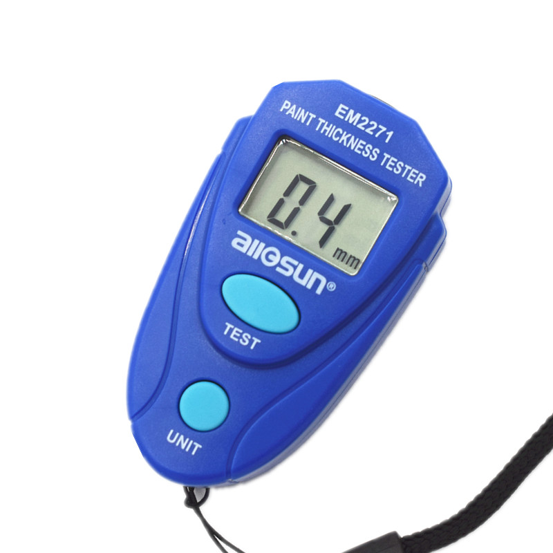 ALL-SUN EM2271 Russian English Instruction Digital Car Painting Thickness Meter Thickness Tester Coating Thickness Gauge
