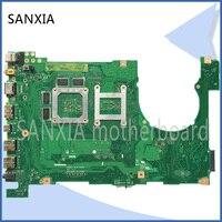 KEFU original N550LF motherboard for ASUS N550LF Q550LF laotop motherboard I7 CPU tested mainboard