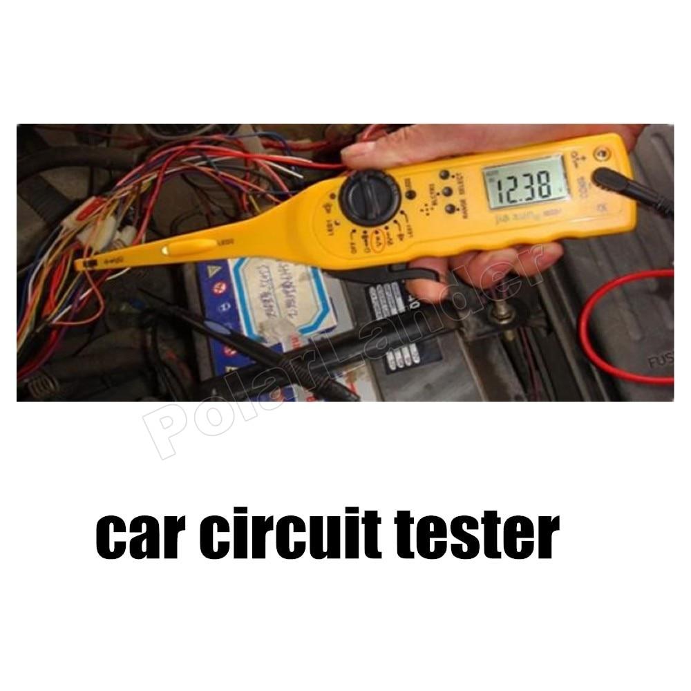 Multimètre d'appareil de contrôle de Circuit électrique de puissance automatique de voiture de prix inférieur avec l'accessoire de voiture des véhicules à moteur léger de sonde de lampe