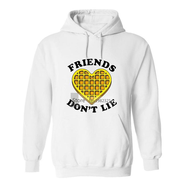 a227ae51e4 Stranger Things Hoodies Friends Don T Lie Eleven Sweatshirts Oversized Size  5Xl Sudadera Stranger Things