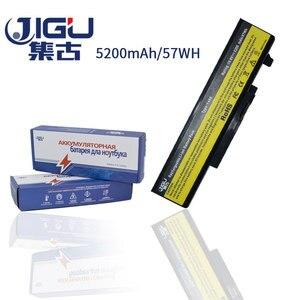 Image 2 - JIGU dizüstü lenovo için batarya IdeaPad Y450 Y450A Y550 Y550A 55Y2054 L08L6D13 L08O6D13 L08S6D13 Y450 20020 Y550 4186