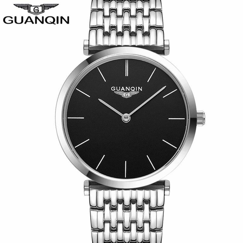 Saatlar kişilər Yeni Moda dizayneri Orijinal marka GUANQIN Sapphire - Kişi saatları - Fotoqrafiya 5
