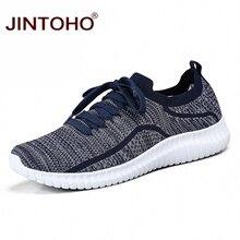 Мужские кроссовки унисекс JINTOHO, повседневные сетчатые кроссовки в Корейском стиле, недорогие повседневные кроссовки, лето 2019