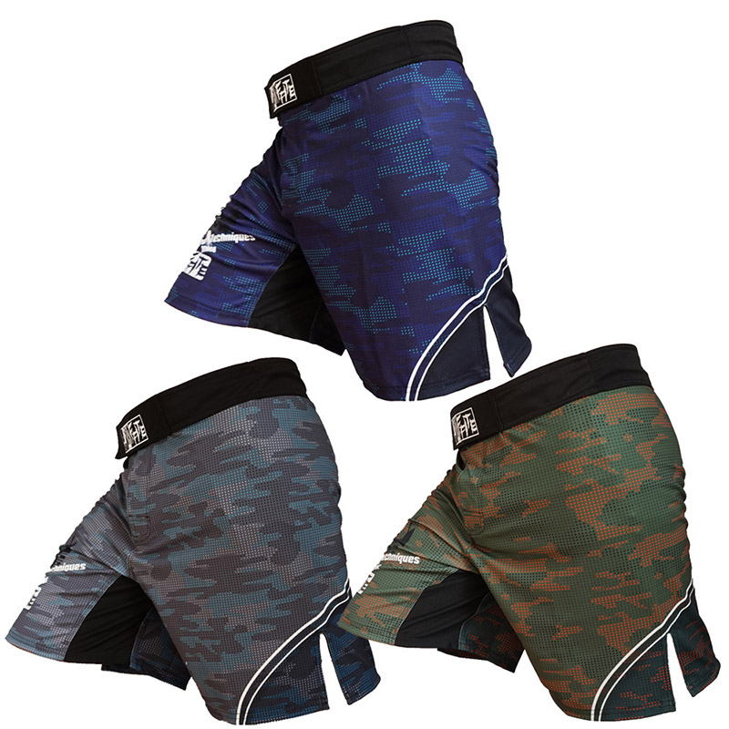 Training Shorts Gym Running Shorts Men Bodubuilding Shorts Breathable Workout Shorts Sport Fitness MMA Shorts Men(China)
