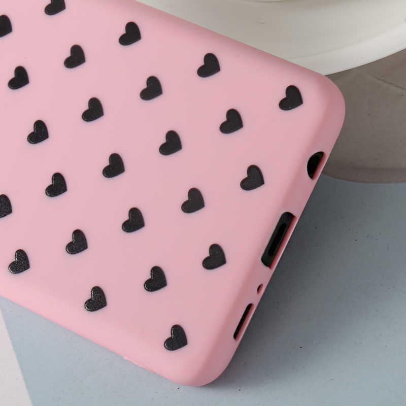 Cute 3D Silicone Couple Love Heart Soft Case For Samsung Galaxy S6 S7 Edge S7 S8 S9 S10 Plus lite S10E Note 8 9
