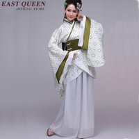 Chinese folk dance costume clothing hanfu ancient fan dance traditional Chinese dance costumes Stage dance wear KK1323