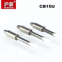 HUHAO 5PCS/lot Graphtec Plotter Cutter 30/45/60 Degree  CB15U Tungsten blades Cutting Plotter Vinyl Cutter Knife for Graphtec