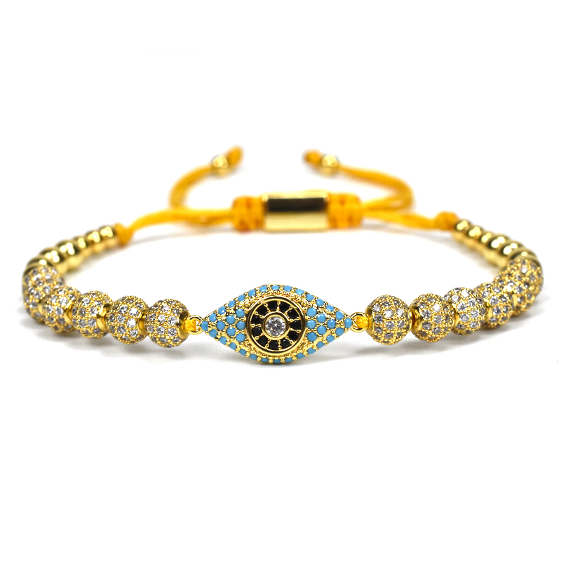 Pulseira homens jóias Trança Macrame beads Pulseiras