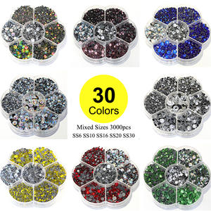 0ddc44b0ce4 3000pcs Lot Crystal AB Glass Stone for Clothing