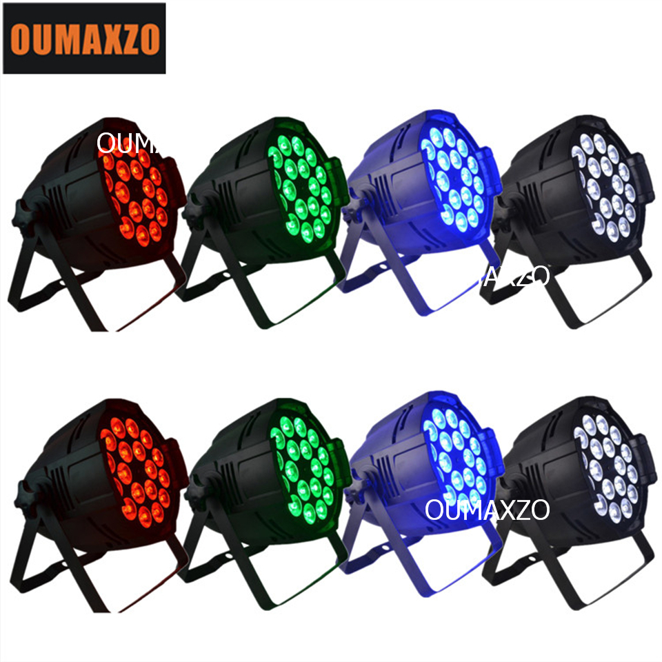 8pcs/lot stage light DMX 18pcs 12w RGBW 4in1 led light par Powercon Multi Color 18pcs 12w 4in1 rgbw colorful led par 64 free shipping 16 lot dmx 18x10w rgbw led par can light for stage decoration