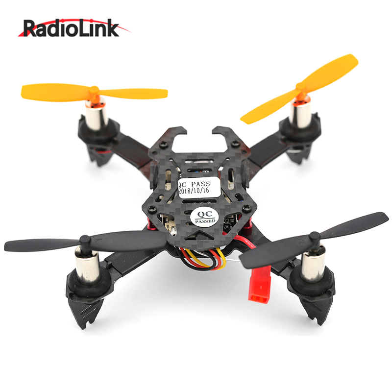 Radiolink <font><b>F110S</b></font> Mini Camera Drone Quadcopter Indoor Altitude Hold Inertial Navigation 360 degree Throw Carbon Fiber Model image