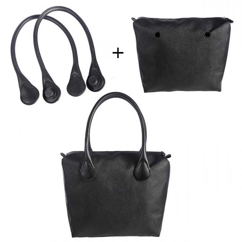 LHLYSGS Women's Fashion Italy Obag Bag Removable Matching Handbag O Bag Handles Strap And Obag Inner Bag Luggage Accessories