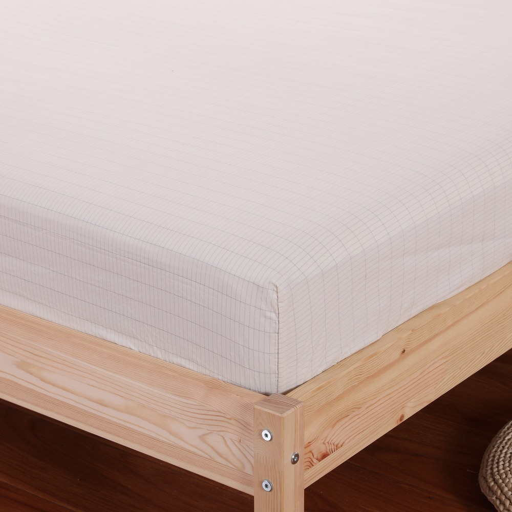grounded Sheet Conductive Silver Antimicrobial Fabric EARTHING Fitted Sheet Twins 99 203cm