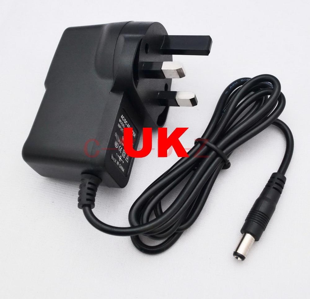 AC 100-240V Converter Adapter DC 4.5V 1A 1000mA  Power Supply Charger UK Plug