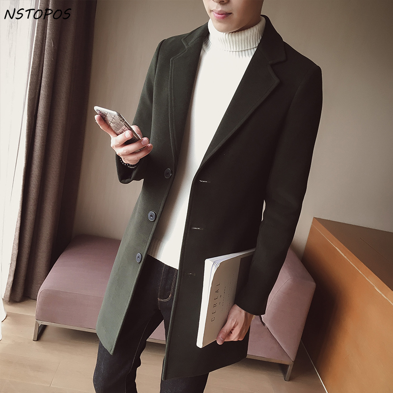 Man Classic Fashion Trench Coats 2017 Black Red Army 5xl Men Long Trench Slim Fit Overcoat Men Coats Fashion Trench Outerwear