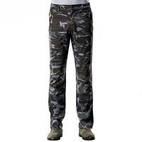 Mountainskin 2017 New Winter Men S Pants Casual Thick Warm Male Waterproof Camouflage Pants Men Inside