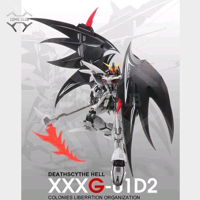 COMIC CLUB IN STOCK MODLE HEART Deathscythe Hell Gundam XXXG 01D2 ew MG 1/100 Action Assembly Figure Robot Toy