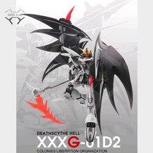 Comic Club In Voorraad Modle Hart Deathscythe Hell Gundam XXXG 01D2 Ew Mg 1/100 Action Vergadering Figuur Robot Speelgoed