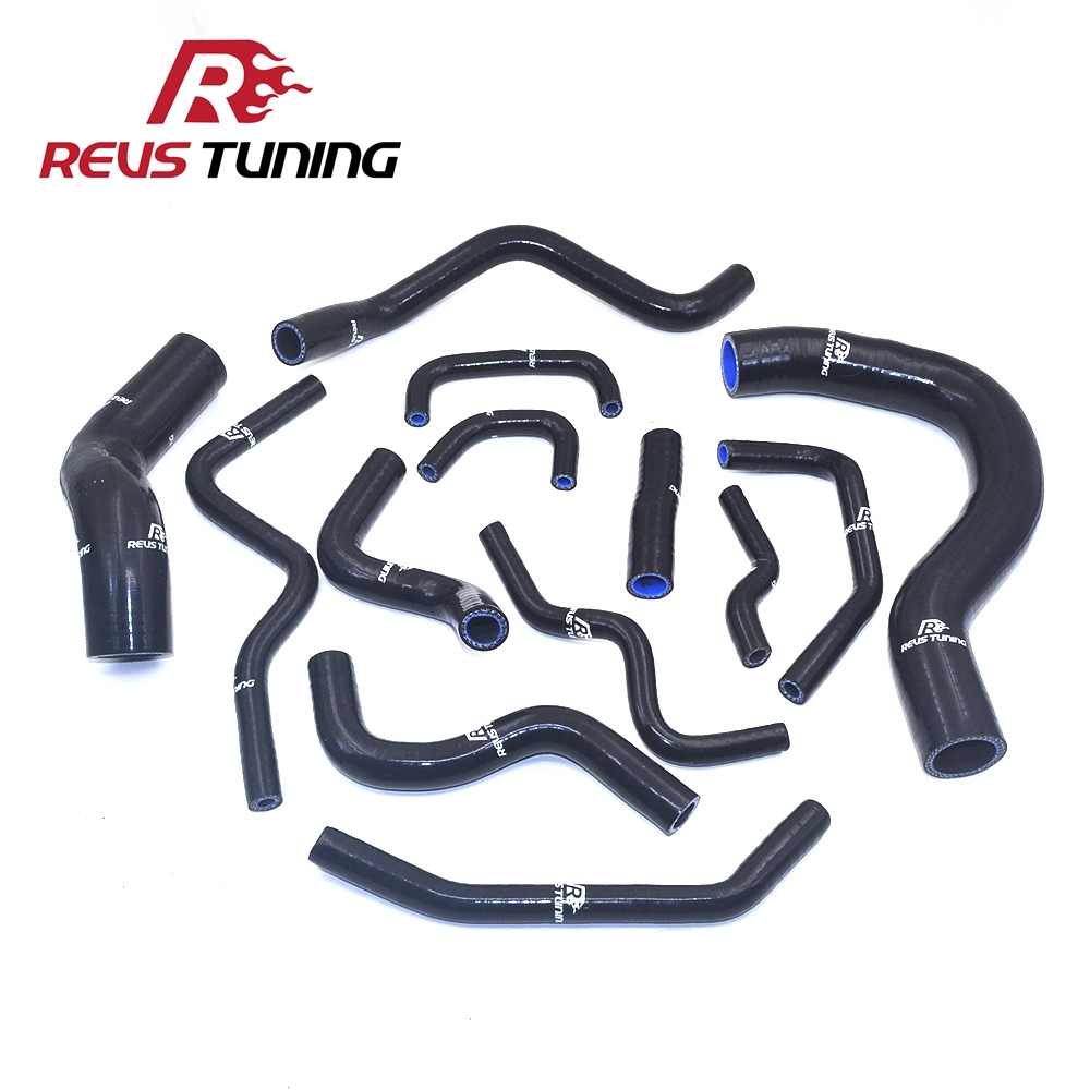 3Ply Black Color Car Tuning Performance Auto Silicone Radiator Hose Kit Coolant Hose For Honda Civic EP3 TYPE R K20A2 2001~2005