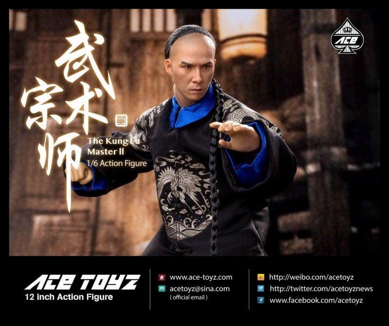 ACE TOYZ 1/6 Arts martiaux Master 2 boîte complète poupée (AT-008) figurine cadeau jouet