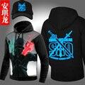 Anime Sword Art Online Hoodies Jackets Coats Sword Art Online Hooded Sweatshirts Autumn Winter coat