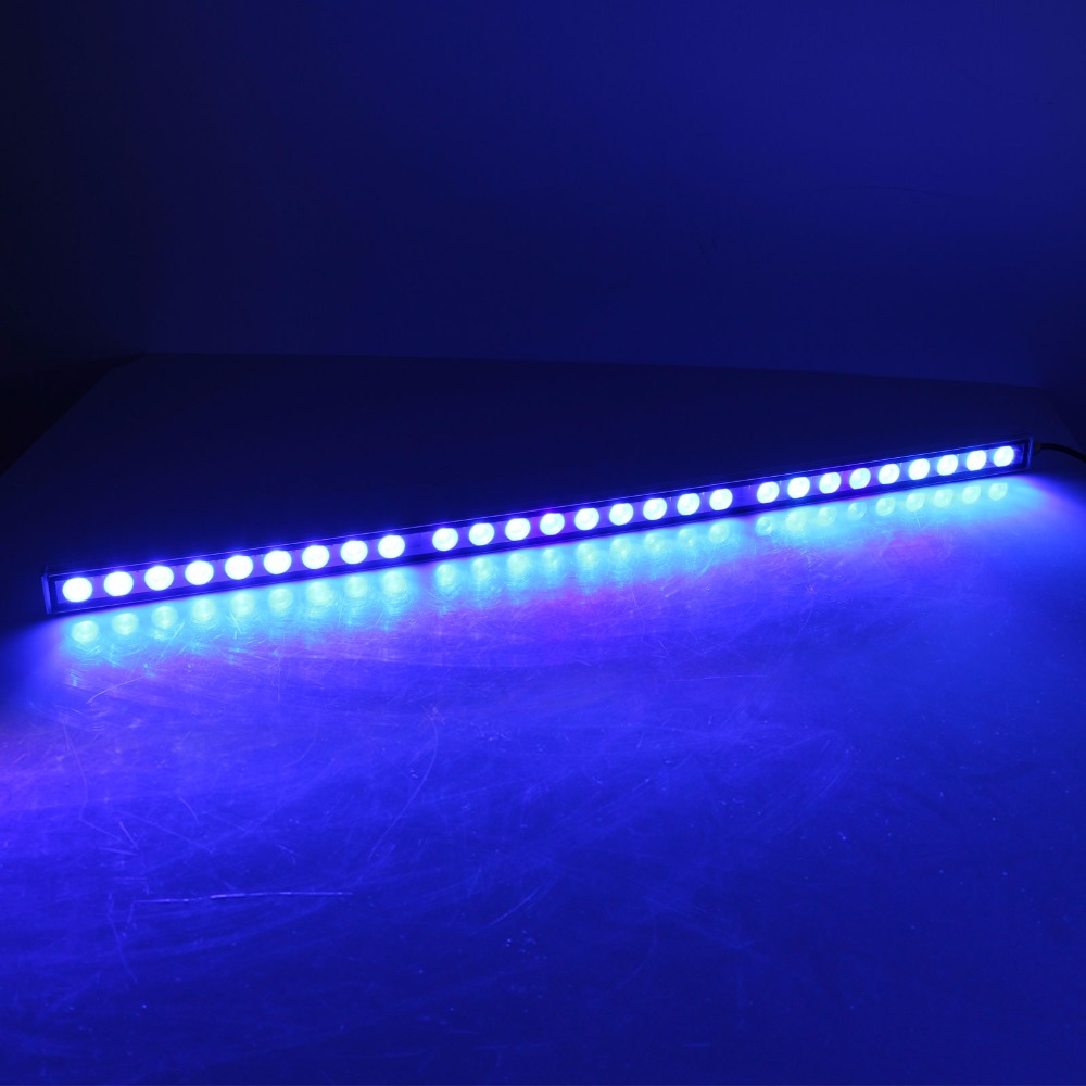 81W LED aquarium light strip bar waterproof IP65 professional blue 470nm spectrum for reef coral Marine life fish tank lighting