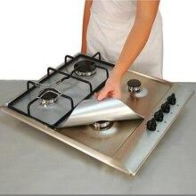 4PCS/LOT Reusable Round Non Stick Stove Cover Gas Range Burner