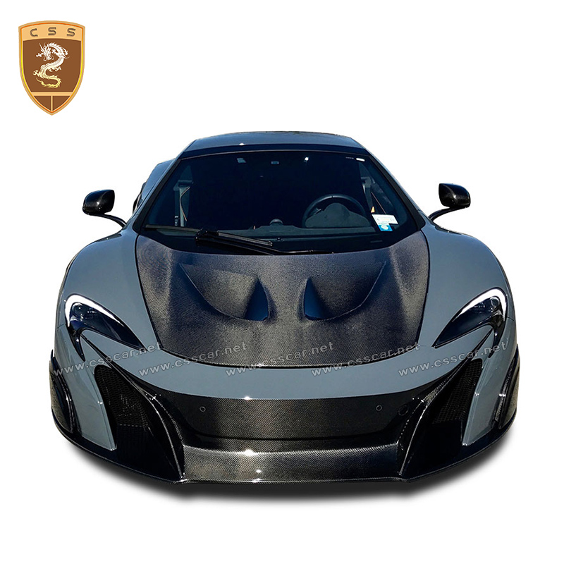 Factory Price Auto Modified Accessories For Mclaren 650s High Quality Real Carbon Fiber Engine Hood Covers For Mclaren 2014-2016