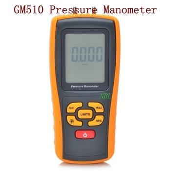 Brand GM510 Multifunction Digital Pressure Manometer 10kPa USB Interface Pressure Gauge Meter Low Battery Indicator Function
